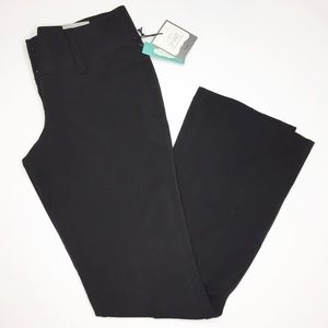 NWT Maurice's black trousers Size 1 / 2 careerwear